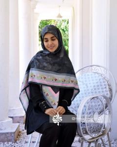 روسری باغ بهشت